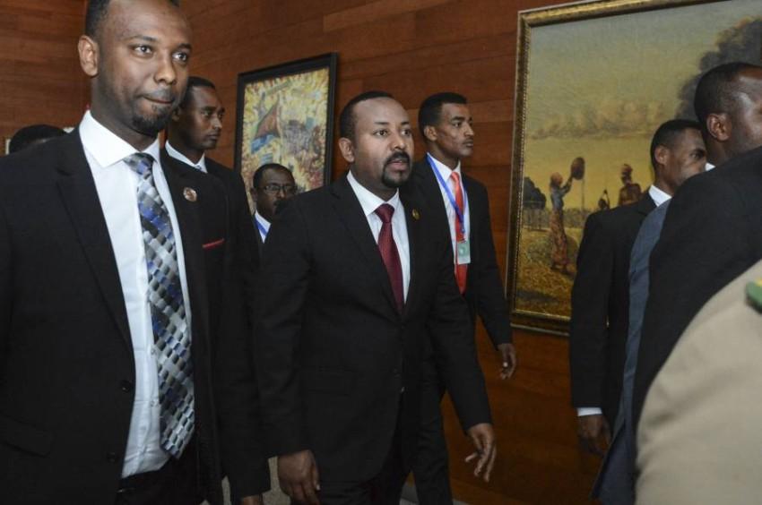 رئيس الوزراء الإثيوبي. (أ ب)