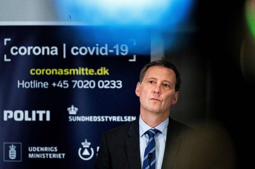 وزير العدل الدنماركي. (أ ف ب)