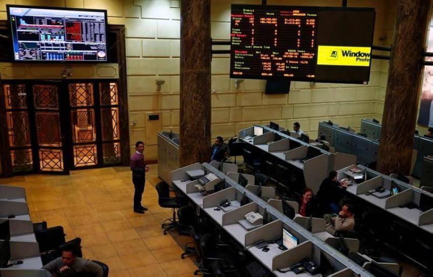 البورصة المصرية. (أرشيفية)