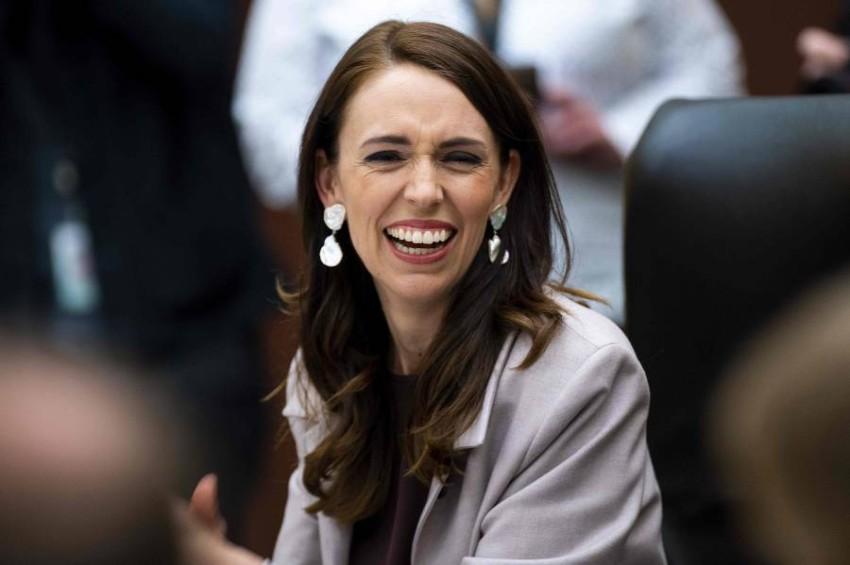 رئيسة وزراء نيوزيلندا جاسيندا أردرن. (أ ف ب)