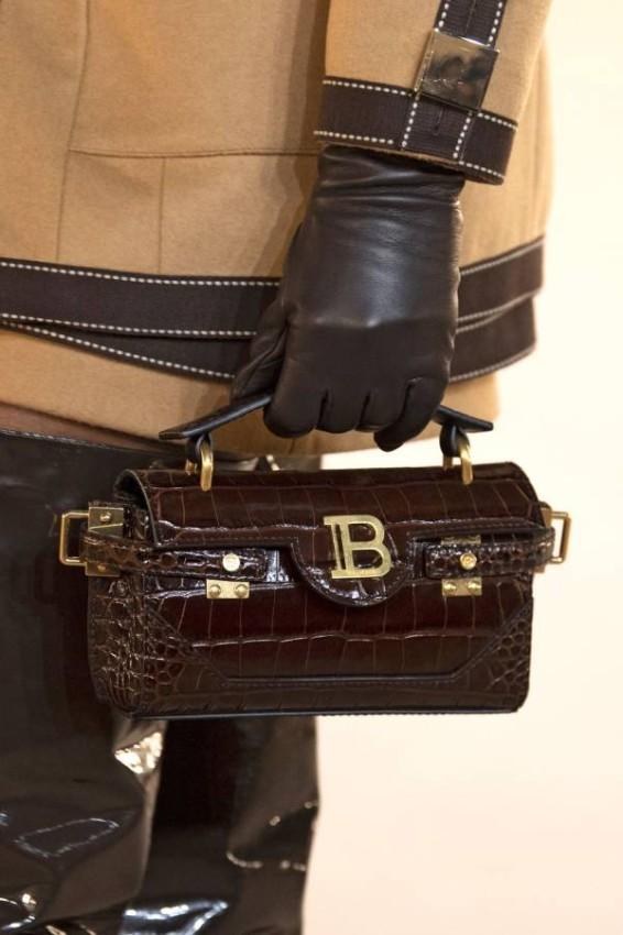 حقيبة البوكس المستطيلة من Balmain