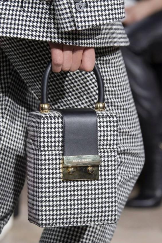 حقيبة الصندوق من Elie Saab