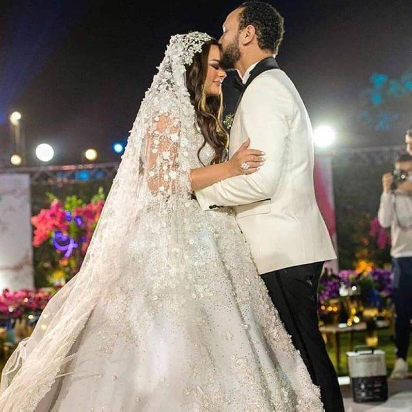 حفل زفاف هنادي مهنا وأحمد خالد صالح.