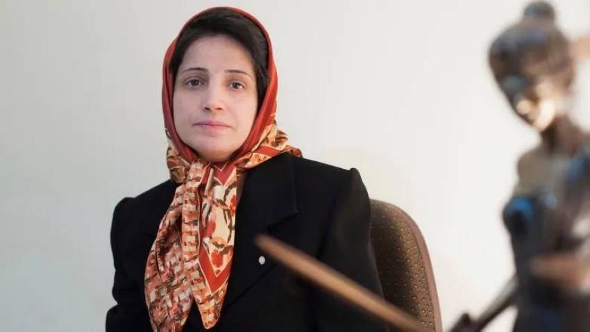 السجينة الإيرانية. (أ ب)