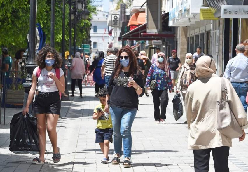 الشارع التونسي ضاق بتجربة حركة النهضة. (أ ف ب)