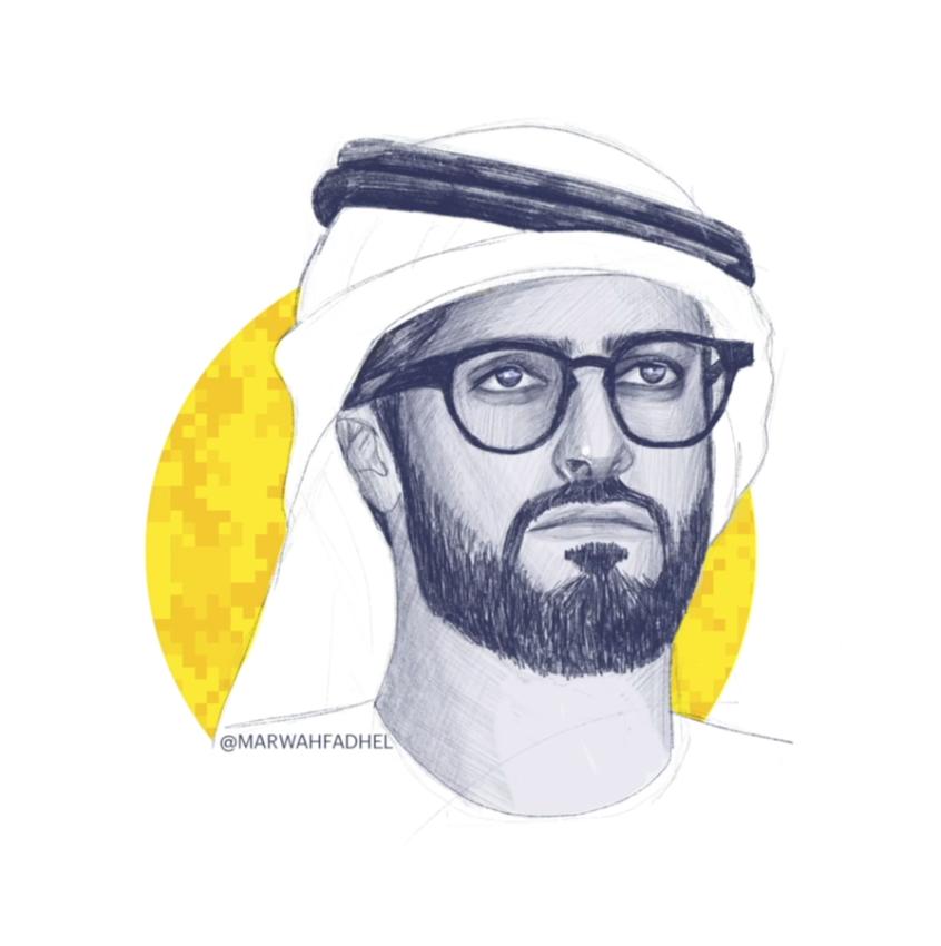 الشيخ زايد بن حمدان.