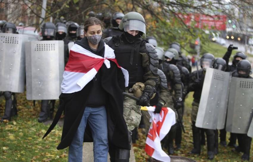 تظاهرات في بيلاروس - أ ب