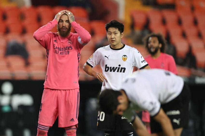 ريال مدريد يخسر أمام فالنسيا. (ماركا)