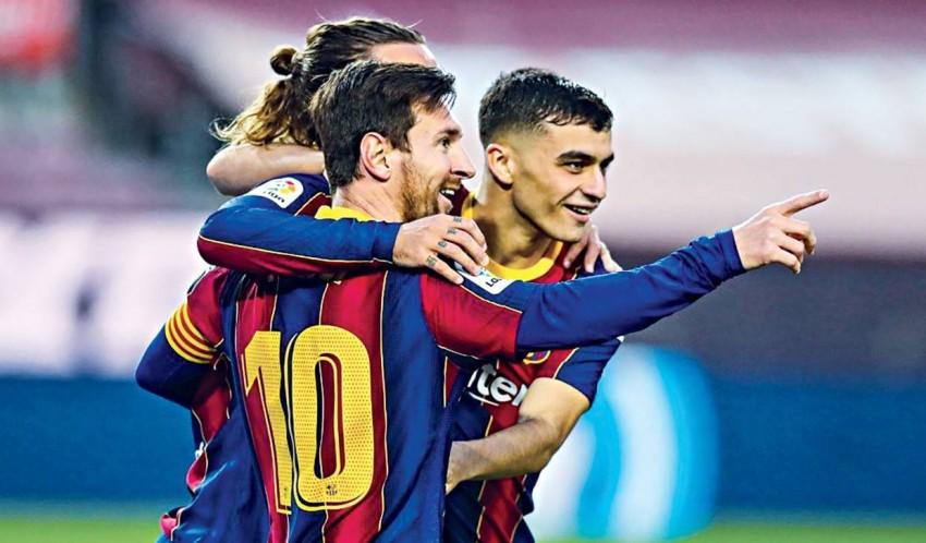 برشلونة يتفوق على ريال بيتيس. (ماركا)