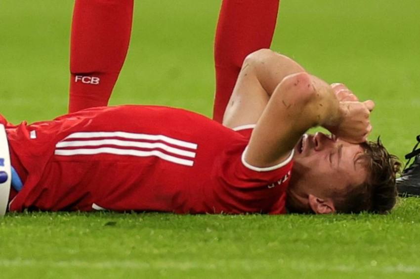 جوشوا كيميتش لاعب بايرن ميونيخ. (إ ب أ)