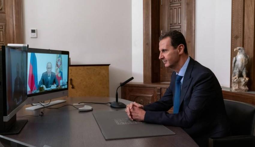 الرئيس السوري بشار الأسد - إيه بي أيه