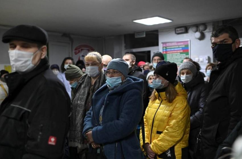 روسيا تسجل أعلى حصيلة يومية بإصابات «كورونا». (رويترز)