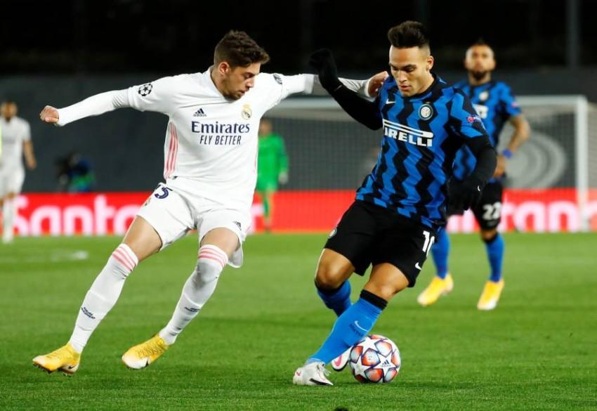 الأوروغوياني فيدي فالفيردي، لاعب وسط ريال مدريد الإسباني. (رويترز)