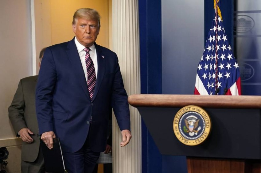 الرئيس دونالد ترامب - أ ب.