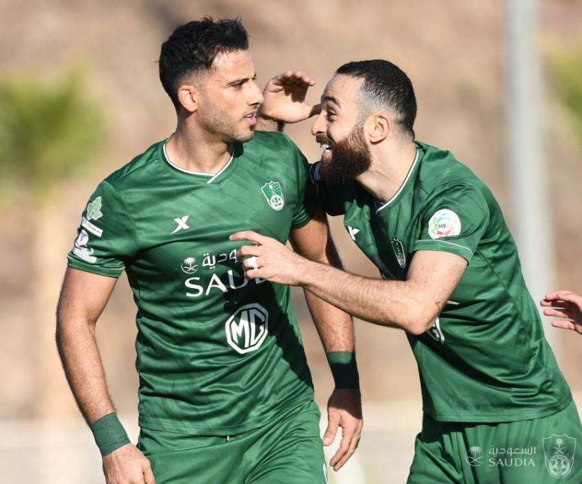 عمر السومة لاعب أهلي جدة. (من المصدر)