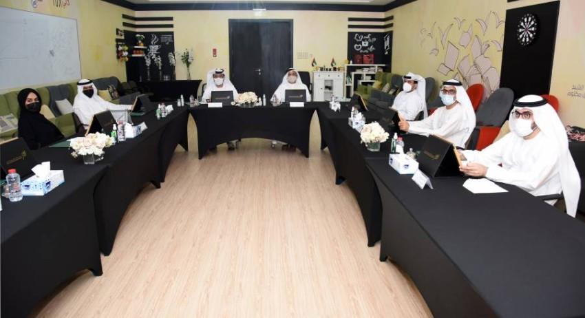 اجتماع مجلس إدارة مؤسسة الأوقاف وشؤون القصر في دبي. (من المصدر)