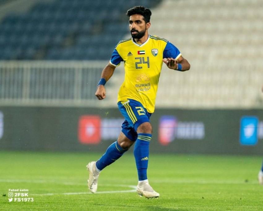 لاعب الظفرة خالد الدرمكي. (من المصدر)