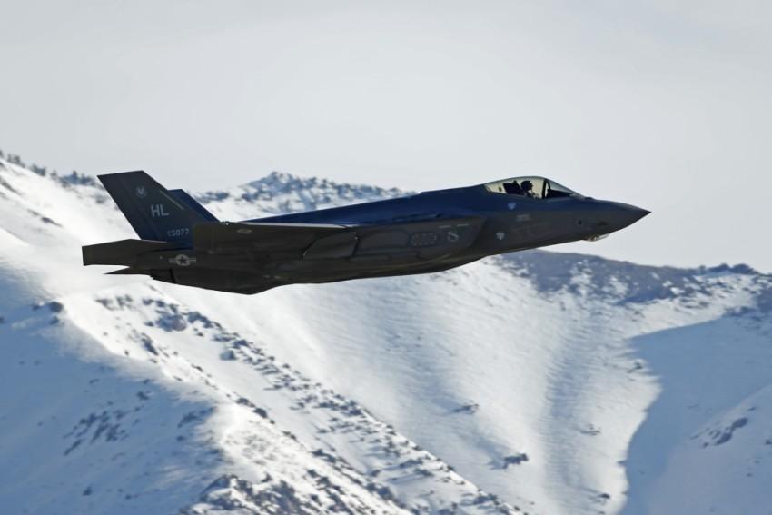 طائرة إف-35. (أ ف ب)