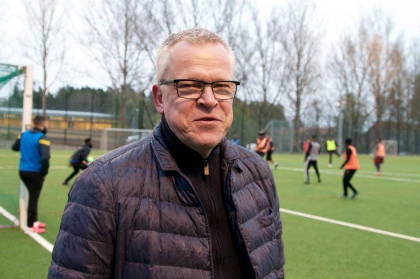 مدرب منتخب السويد لكرة القدم ياني أندرسون. (رويترز)