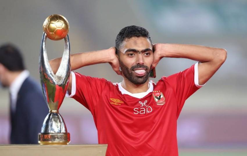حسين الشحات لاعب الأهلي المصري. (إ ب أ)
