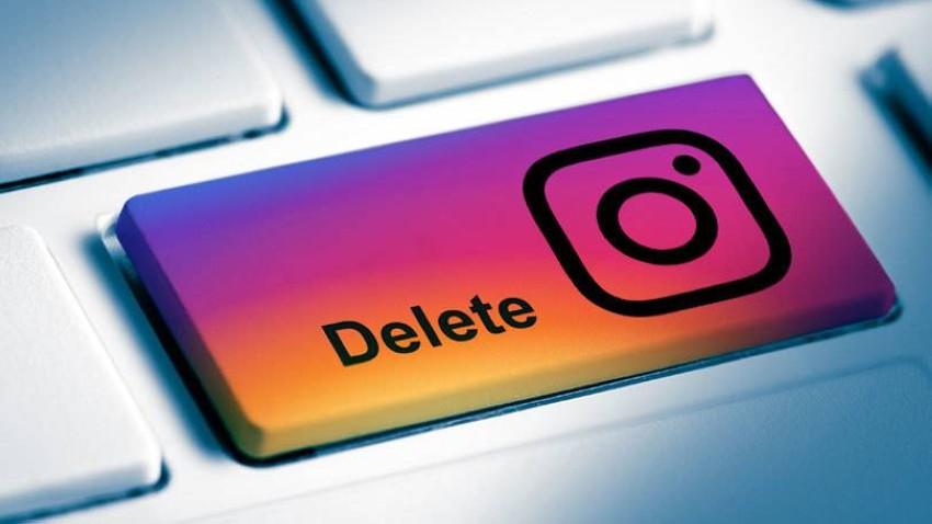 حذف حساب إنستغرام نهائياً 2020