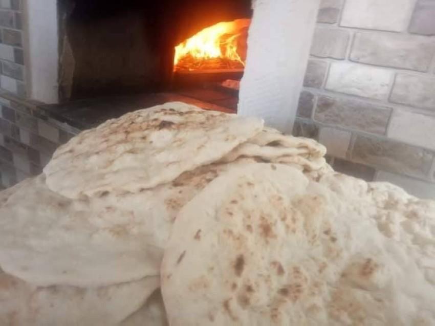 رقائق الخبز المخصص للمسخن.