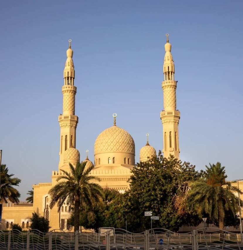 مسجد جميرا الكبير. (أرشيفية)