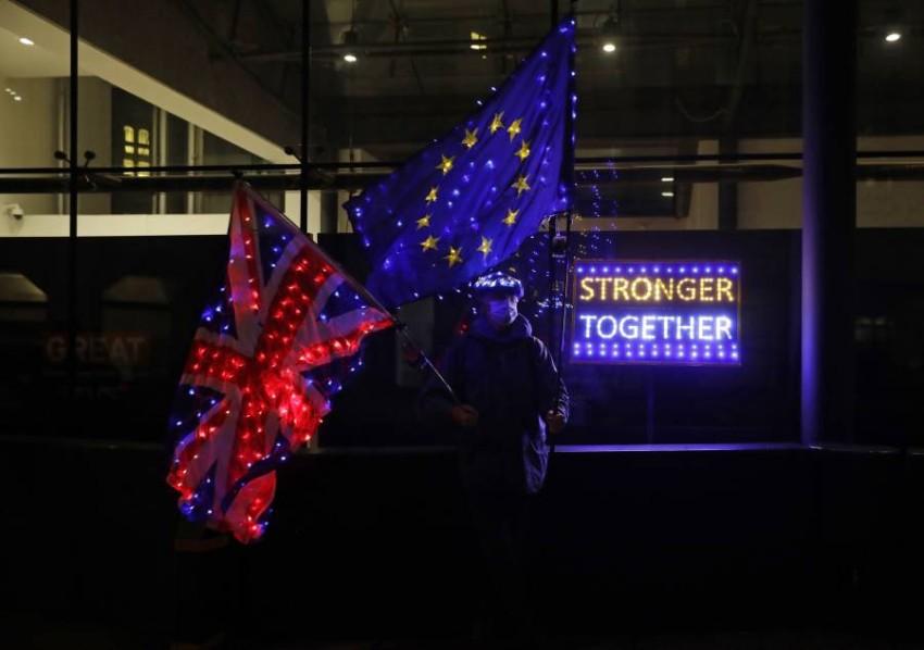 الاتحاد الأوروبي وبريطانيا يعلنان توقف مباحثات بريكسيت مؤقتاً - أ ب.