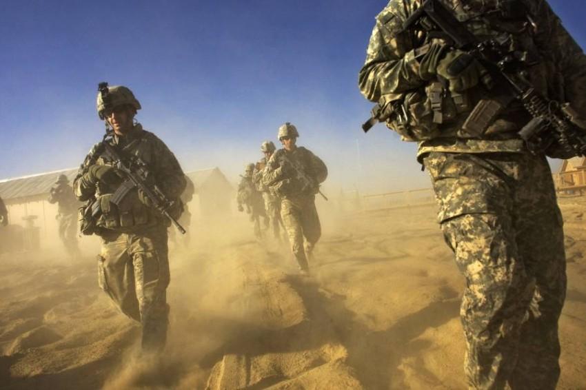 قوات البنتاغون عملت مع «الفيلق العربي» في التسعينيات. (أ ف ب)