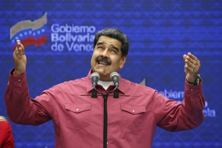 نيكولاس مادورو. (أ ب)