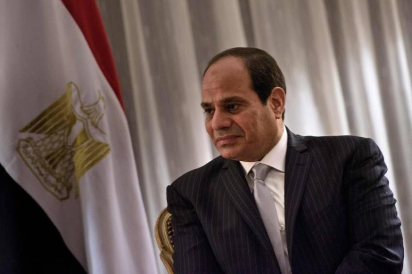 الرئيس المصري. (أ ف ب)