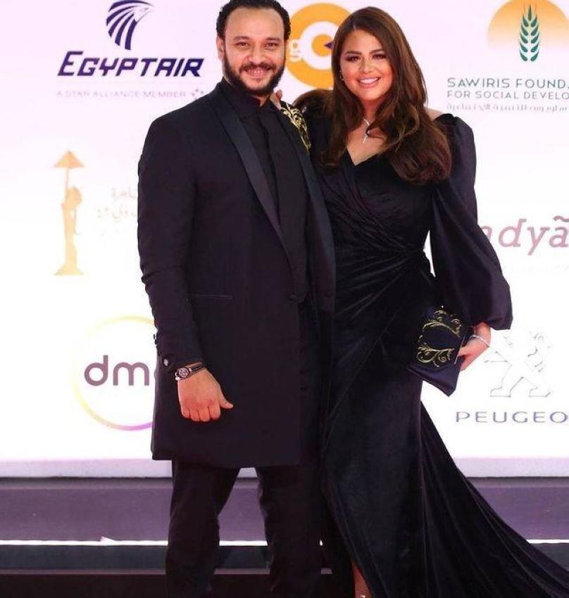هنادي مهنا وزوجها أحمد خالد صالح