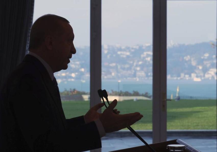 أردوغان خسر كل مقومات بقائه في السلطة. (أ ب)