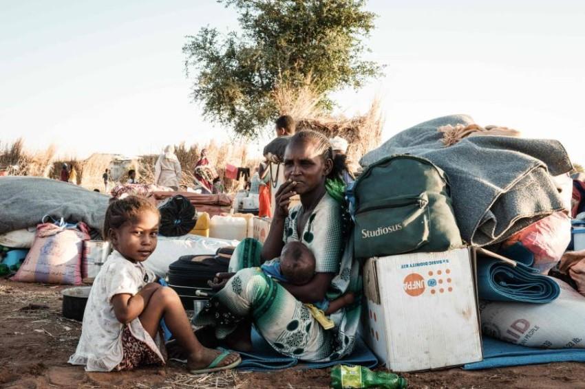 إثيوبيا تقول إن الجهود تتركز الآن على توصيل المساعدات للمتضررين من الحرب. (أ ف ب)