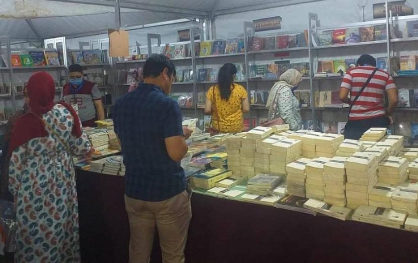 معرض نادي طلعت حرب للكتاب.