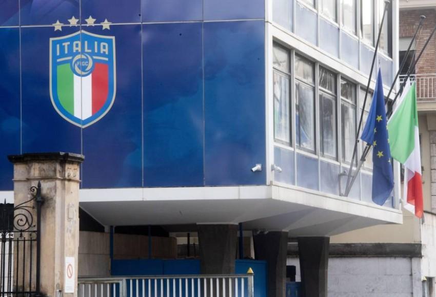 مبنى الاتحاد الإيطالي لكرة القدم. (EPA)