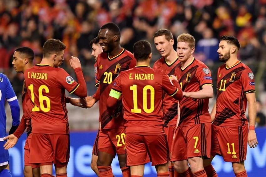 منتخب بلجيكا. (غيتي)