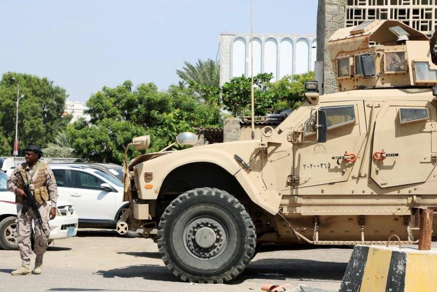 قوات التحالف بقيادة السعودية في اليمن. (رويترز)