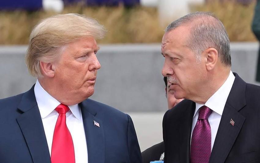 أردوغان وترامب علاقات ودية أغضبت الامريكيين.(أرشيفية)