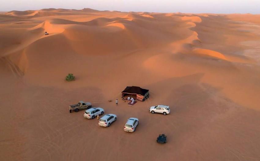 صحراء ليوا.