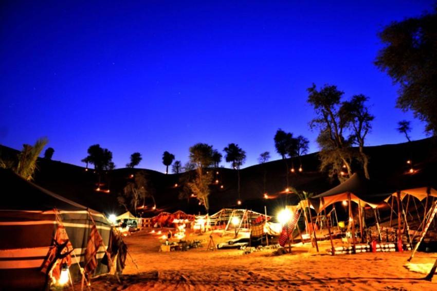 مخيم واحة البدو رأس الخيمة