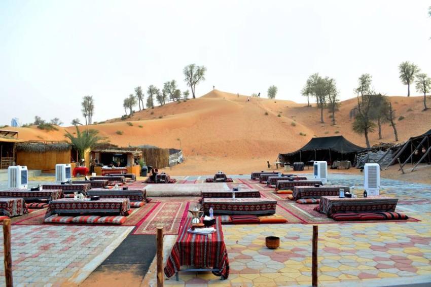 مخيم واحة البدو