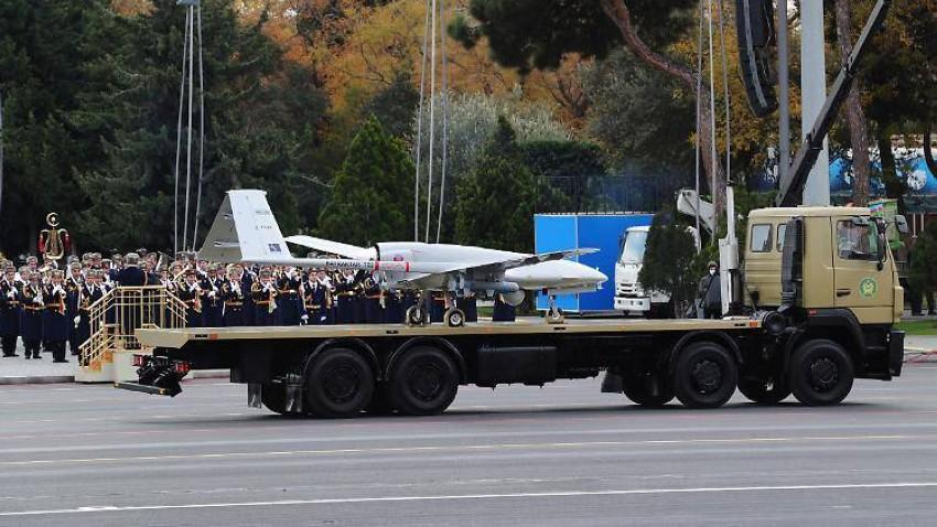 صورة لطائرة تركية في أذربيجان. (أرشيفية)