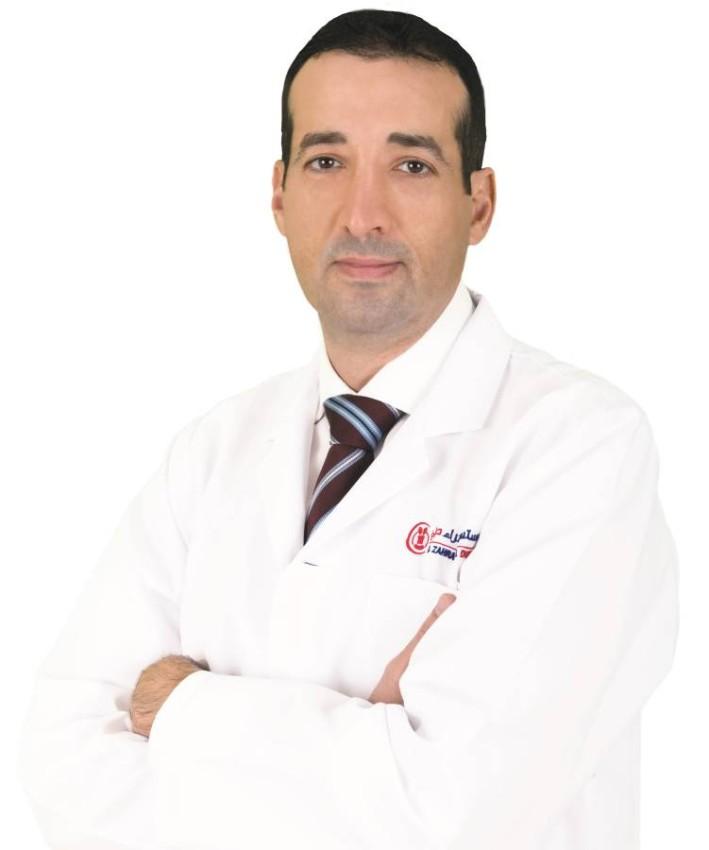 الدكتور شريف عامر، أخصائي أمراض القلب في مستشفى الزهراء دبي