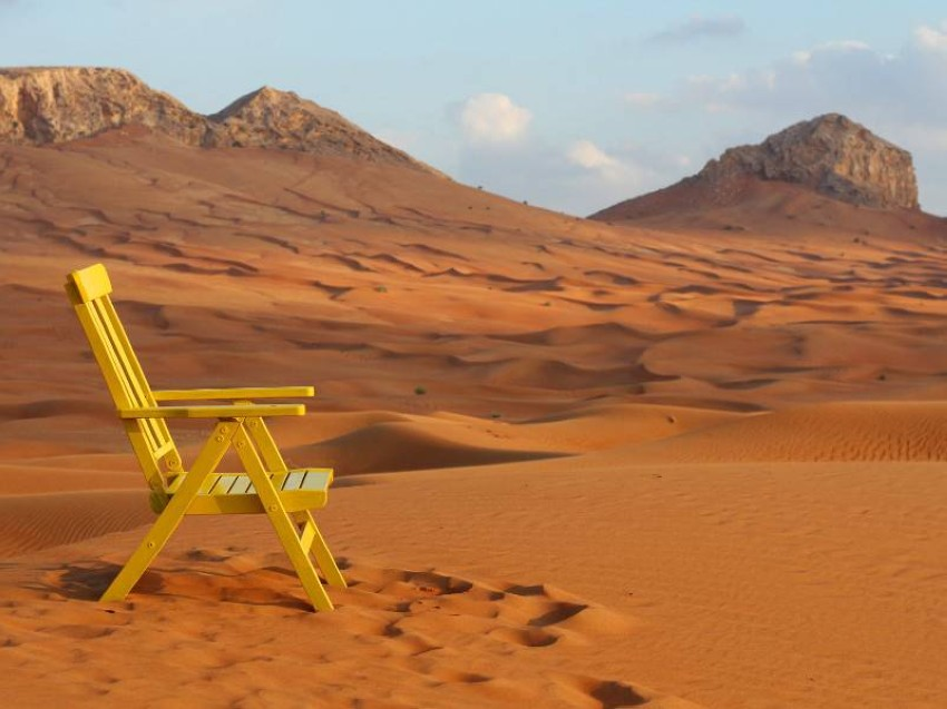 صحراء مليحة بإمارة الشارقة