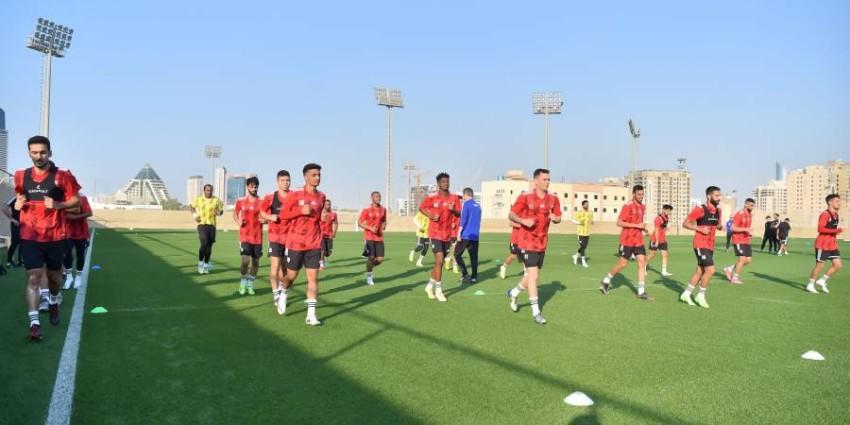 تدريبات منتخب الإمارات