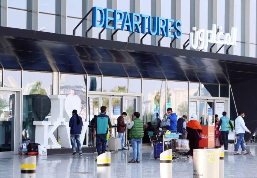 مطار الكويت الدولي. (أ ف ب)
