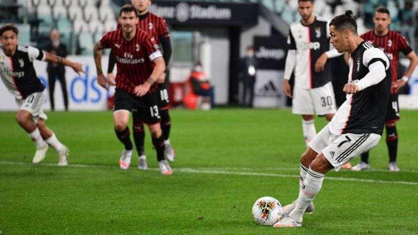 موعد مباراة يوفنتوس ضد ميلان القادمة في الدوري الإيطالي (بي بي سي)