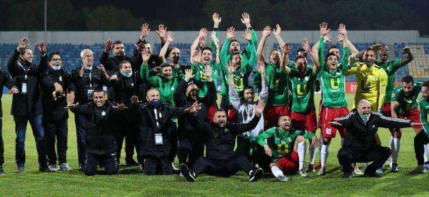 فريق الوحدات. (تصوير أحمد الأمين)