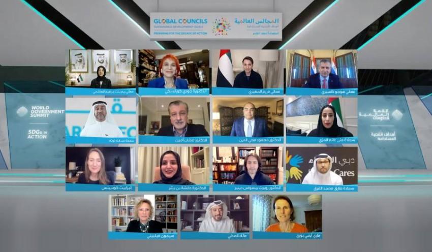 القمة العالمية للحكومات تستضيف ملتقى الاستعداد للعقد القادم.